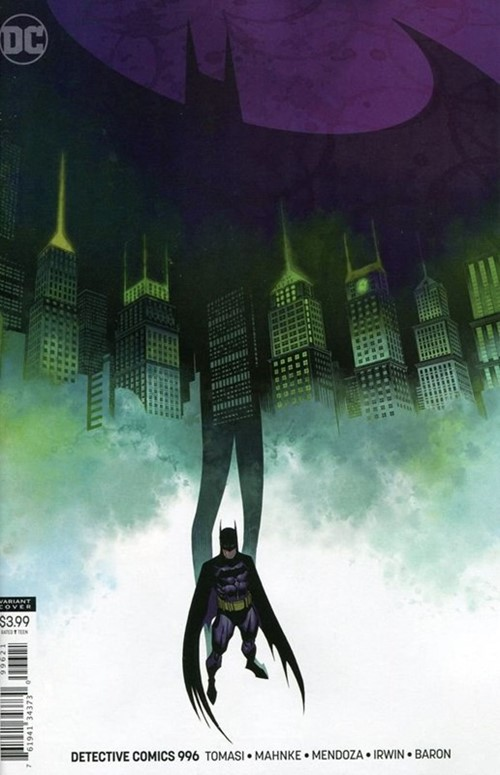 (DC) Cover for Detective Comics #996 Brian Stelfreeze Variant Cover