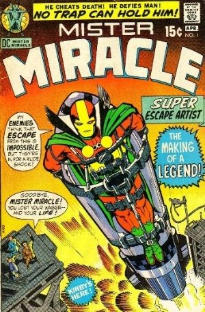 Comic Cover for Mister Miracle (#1)