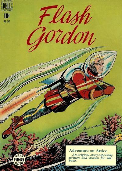 Comic Cover for Flash Gordon (Four-Color) (#247)