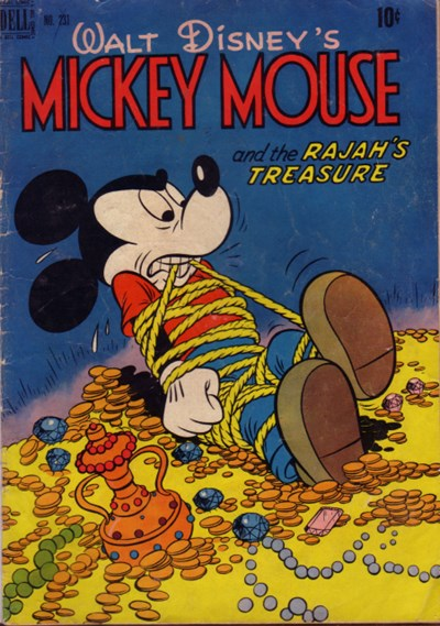 Comic Cover for Mickey Mouse (Four-Color) (#231)