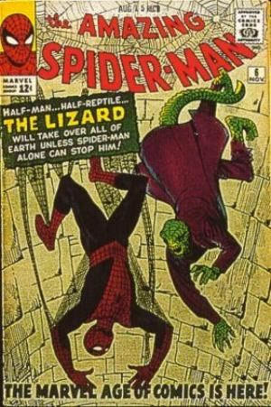 (Marvel) Cover for Amazing Spider-Man, The #6 1st Appearance of The Lizard (Curtis Connors)