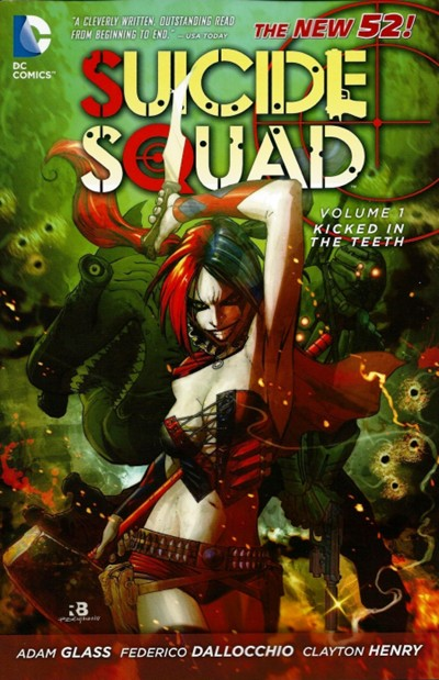 (DC) Cover for Suicide Squad #1 Kicked in the Teeth! (Collects issues 1-7)
