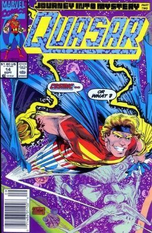 (Marvel) Cover for Quasar #14