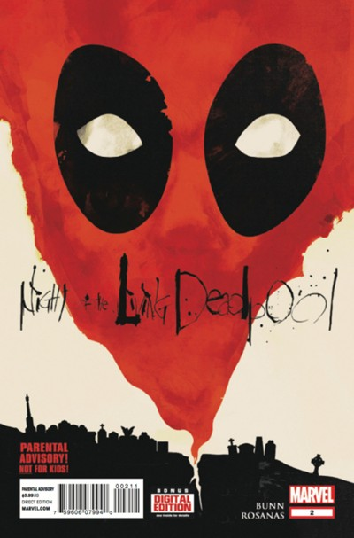 (Marvel) Cover for Night Of The Living Deadpool #2