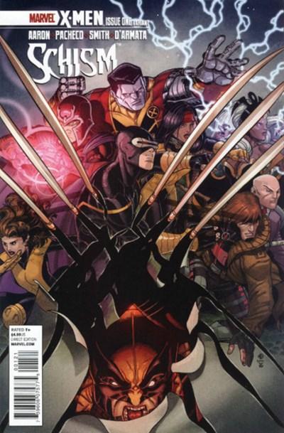 (Marvel) Cover for X-Men: Schism #1 Nick Bradshaw Variant Cover