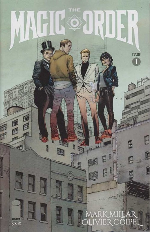 (Image) Cover for Magic Order, The #1