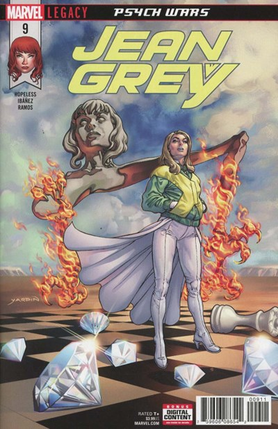 (Marvel) Cover for Jean Grey #9