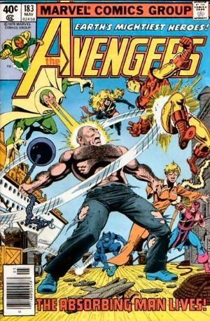 Comic Cover for Avengers (#183)