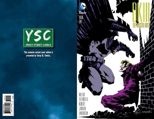 (DC) Cover for Dark Knight Iii: The Master Race #1 Yancy Street Exclusive Variant Cover by Kelley Jones