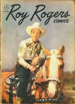Comic Cover for Roy Rogers Comics (Four Color) (#124)