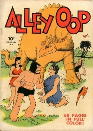Comic Cover for Alley Oop (Four-Color) (#3)