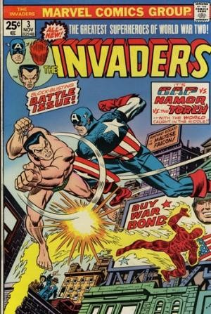 Comic Cover for Invaders, The (#3)