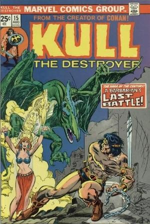 Comic Cover for Kull The Destroyer  (#15)