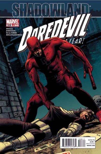 Comic Cover for Daredevil (#508)