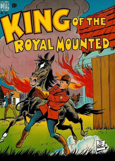 Comic Cover for King Of The Royal Mounted (Includes Four-Color)  (#207)