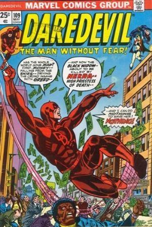 Comic Cover for Daredevil (#109)