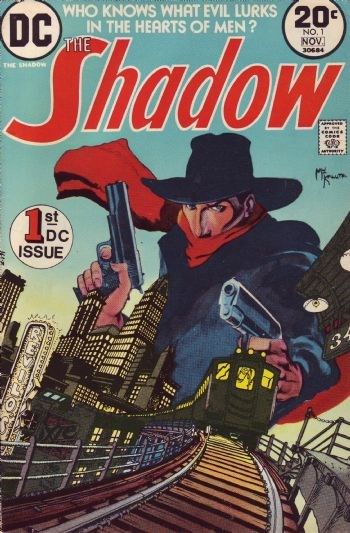 (DC) Cover for Shadow, The #1 1st Appearance of The Shadow (Kent Allard) in DC Comics, 1st Appearance of Margo Lane