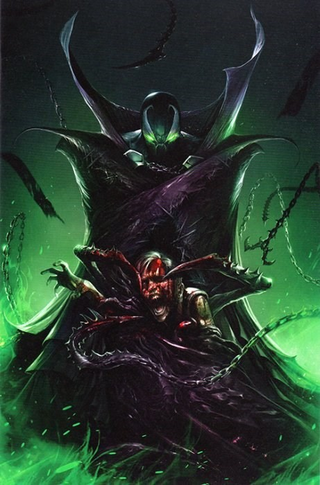 (Image) Cover for Spawn #285 Scott's Collectables 2018 MegaCon Exclusive Francesco Mattina Virgin Variant Limited to 666