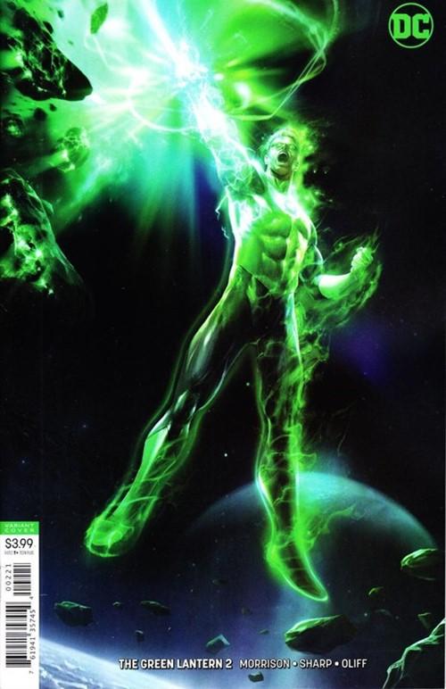 (DC) Cover for Green Lantern, The #2 Francesco Mattina Variant Cover