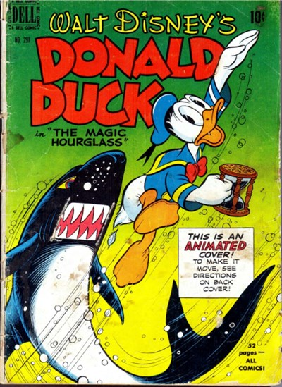 Comic Cover for Donald Duck (Four Color) (#291)