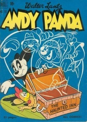 Comic Cover for Andy Panda (Four-Color) (#297)