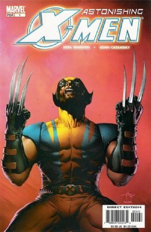 (Marvel) Cover for Astonishing X-Men #1 Variant Dell Otto Cover