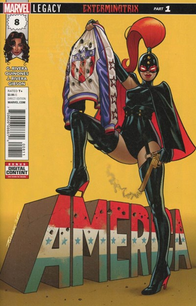 Comic Cover for America (#8)