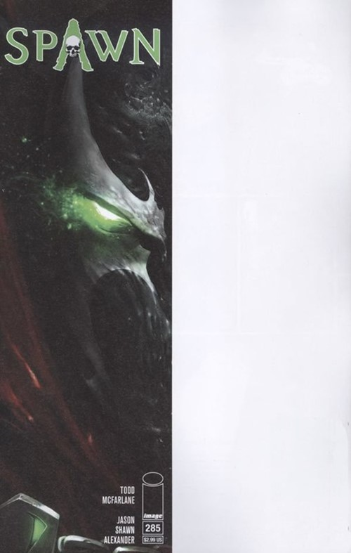 (Image) Cover for Spawn #285 Francesco Mattina Mask Cover