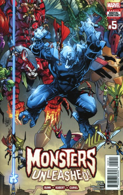 Comic Cover for Monsters Unleashed (#5)