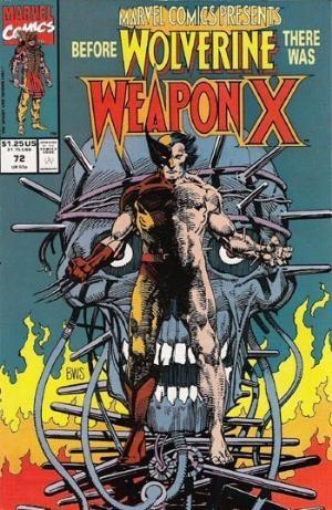 Comic Cover for Marvel Comics Presents (#72)
