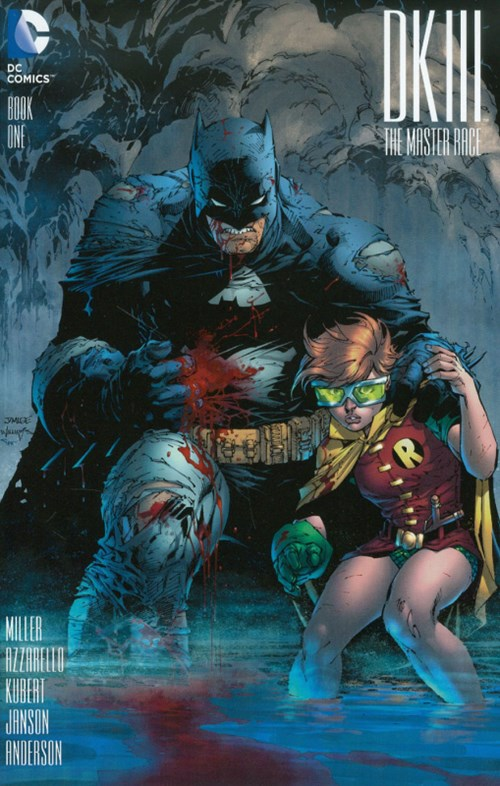 (DC) Cover for Dark Knight Iii: The Master Race #1 Jim Lee Variant Cover. Limited 1 for 500.