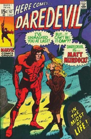 Comic Cover for Daredevil (#57)