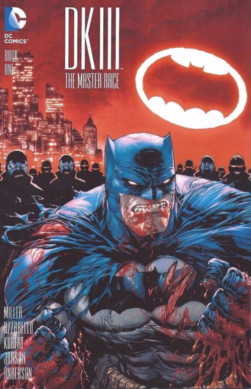 (DC) Cover for Dark Knight Iii: The Master Race #1 Hastings Exclusive Variant Cover by Tyler Kirkham
