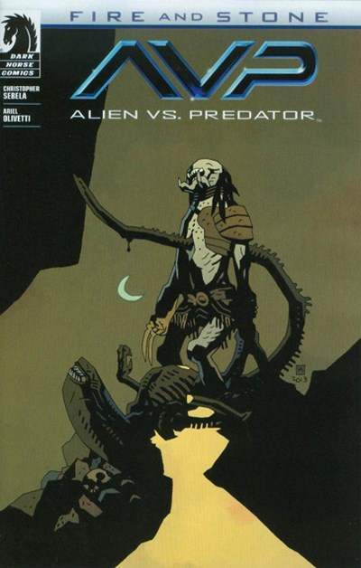 Comic Cover for ALIEN VS. PREDATOR: FIRE AND STONE (#)