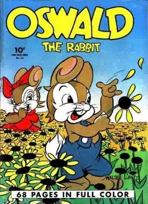 Comic Cover for Oswald The Rabbit (Four-Color) (#21)