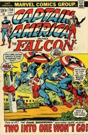 (Marvel) Cover for Captain America #156 William Burnside Appearance