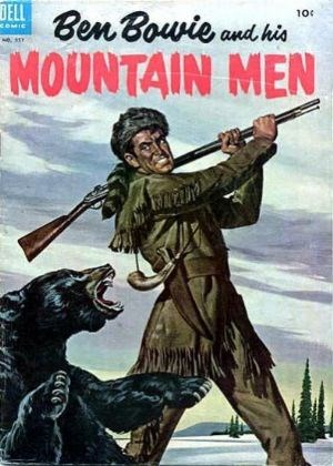(Dell) Cover for Ben Bowie And His Mountain Men (Includes Four-Color) #3 Four-Color No. 557