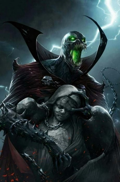 (Image) Cover for Spawn #280 Scott's Collectables Exclusive Francesco Mattina Virgin Variant Limited to 666