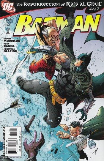 (DC) Cover for Batman #671
