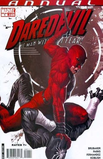 Comic Cover for Daredevil (#1)