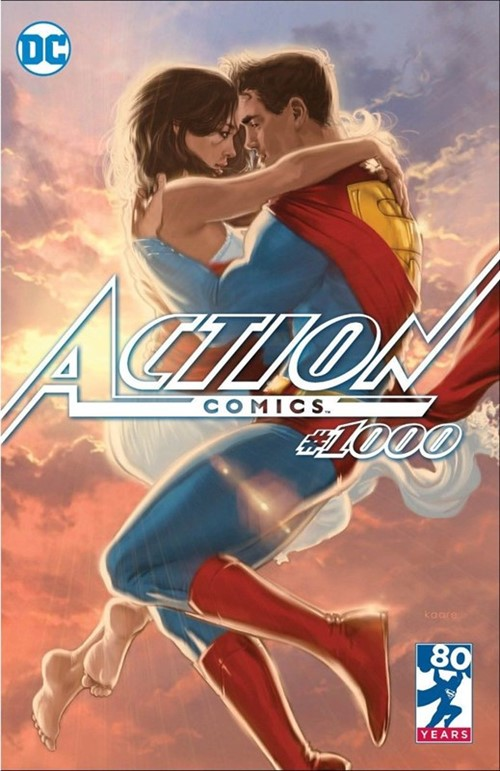 (DC) Cover for Action Comics #1000 Third Eye Comics Exclusive Kaare Andrews Variant Cover