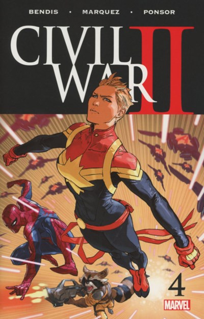 (Marvel) Cover for Civil War Ii #4 1st Appearance of Immortal She-Hulk