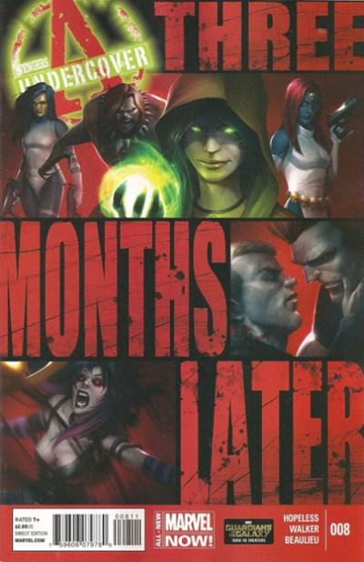 (Marvel) Cover for Avengers Undercover #8
