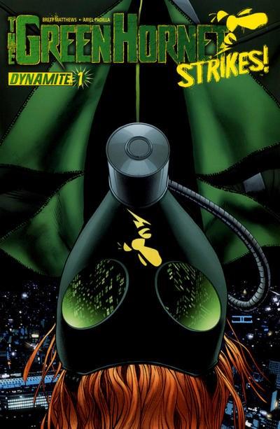 (Dynamite Entertainment) Cover for Green Hornet Strikes!, The #1