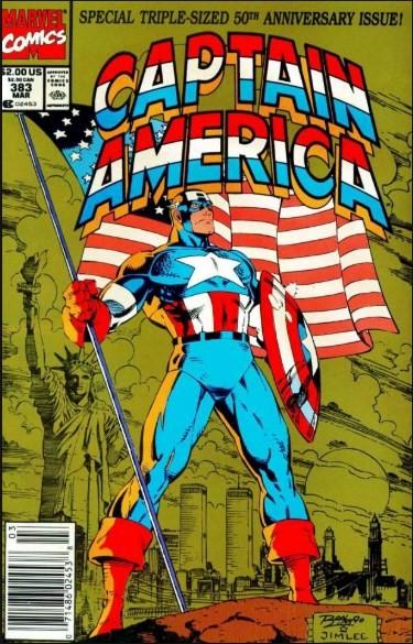 Comic Cover for Captain America (#383)
