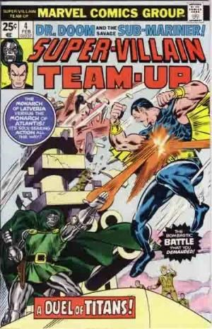 Comic Cover for Super-Villain Team-Up (#4)