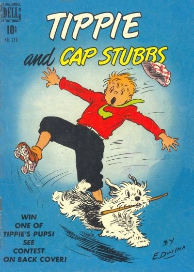 Comic Cover for Tippie And Cap Stubbs (Four-Color) (#210)