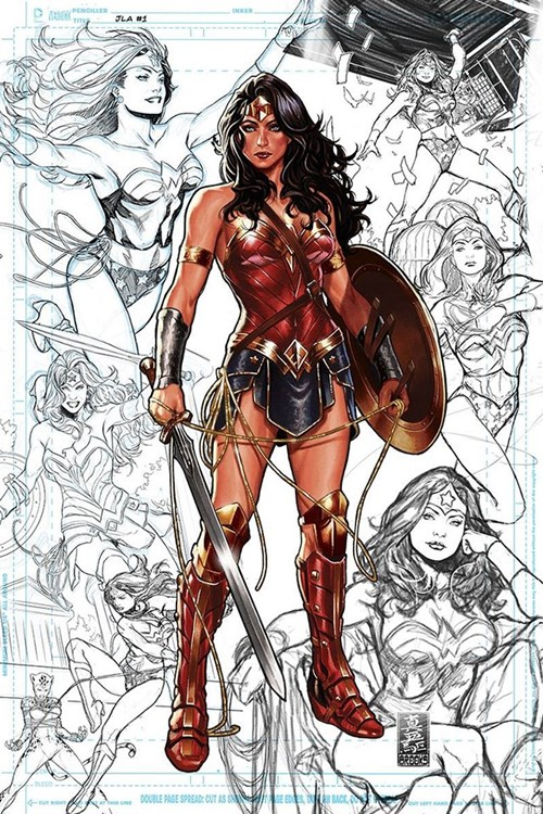 Comic Cover for Justice League (#1)