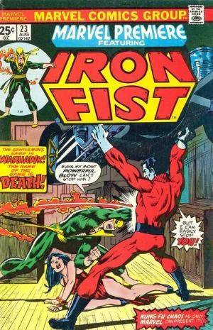 Comic Cover for Marvel Premiere (#23)