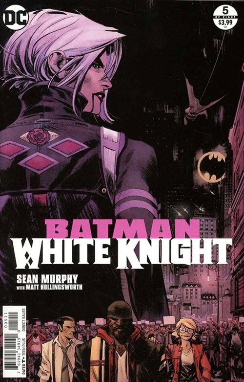 Comic Cover for Batman: White Knight (#5)